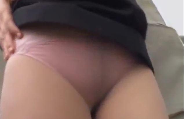 素人パンストパンチラ動画