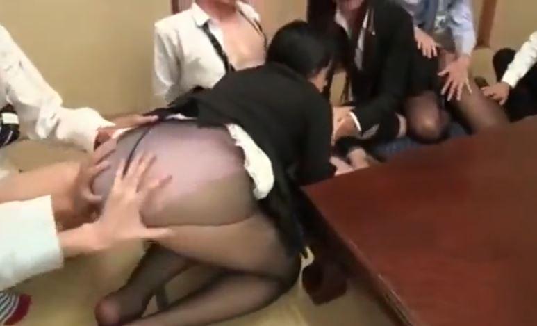 熟女パンスト動画
