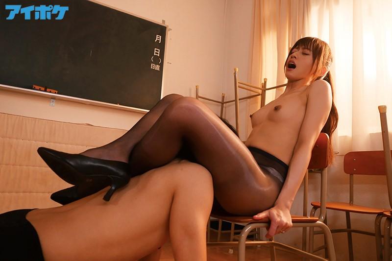 女教師黒パンスト